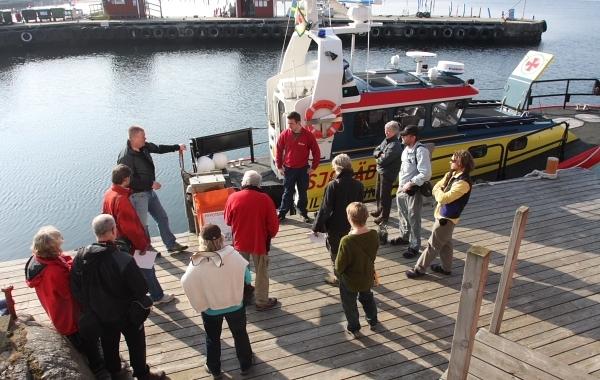 Tjörns Kajakklubb Besöker Sjöräddningen