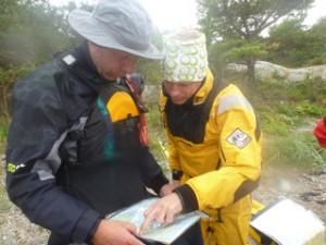sjökortstitt